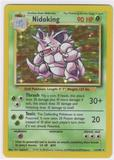 Pokemon Base Set 1 Single Nidoking 11/102 - LIGHT PLAY