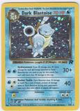 Pokemon Team Rocket 1st Edition Single Dark Blastoise 3/82