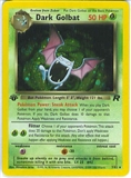 Pokemon Team Rocket 1st Edition Single Dark Golbat 7/82 - NEAR MINT (NM)