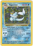 Pokemon Jungle Single Vaporeon 12/64