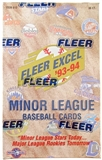 1993/94 Fleer Excel Minor League Baseball Hobby Box