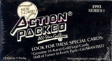 1993 Action Packed All-Star Gallery Series 1 Baseball Wax Box
