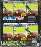 1993/94 Fleer Series 2 Basketball Jumbo Box