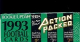1993 Action Packed Rookie Update Football Hobby Box