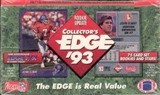 1993 Collector's Edge Rookie Update Football Hobby Box
