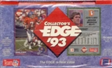 1993 Collector's Edge Football Hobby Box
