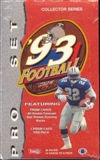 1993 Pro Set Football Hobby Box