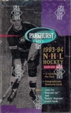 1993/94 Parkhurst Series 1 Hockey Hobby Box