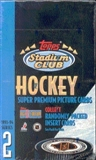 1993/94 Topps Stadium Club Series 2 Hockey Hobby Box