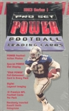 1993 Pro Set Power Football Hobby Box