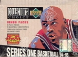 1994/95 Upper Deck Collector's Choice Series 1 Basketball Jumbo Box