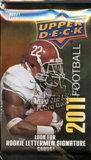 2011 Upper Deck Football Hobby Pack