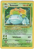 Pokemon Base Set 1 Single Venusaur 15/102 - LIGHT PLAY