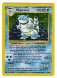 Pokemon Base Set 1 Single Blastoise 2/102 - SLIGHT PLAY (SP)