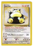 Pokemon Jungle Single Snorlax 11/64