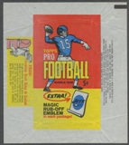 1965 Topps Football Wrapper