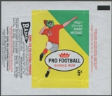 1961 Fleer Football Wrapper (1st series)