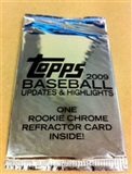 2009 Topps Updates & Highlights Baseball Hobby Topper Pack