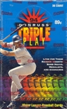 1994 Donruss Triple Play Baseball Hobby Box