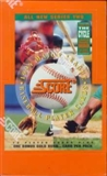 1994 Score Series 2 Baseball Retail Box