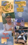 1994 Topps Stadium Club Draft Picks Baseball Hobby Box
