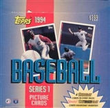 1994 Topps Series 1 Baseball Jumbo Box