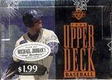 1994 Upper Deck Series 1 Baseball Jumbo Box