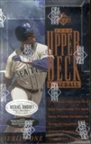 1994 Upper Deck Series 1 Baseball Retail Box