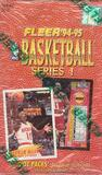 1994/95 Fleer Series 1 Basketball Hobby Box