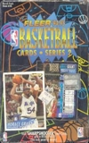 1994/95 Fleer Series 2 Basketball Hobby Box