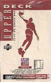 1994/95 Upper Deck Series 1 Basketball 36 Pack Retail Box