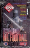 1994 Collector's Edge Excalibur Football Hobby Box