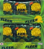 1994 Fleer Ultra Series 1 Football Jumbo Box