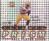 1994 Pacific Prism Football Hobby Box