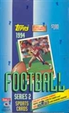 1994 Topps Series 2 Football Hobby Box