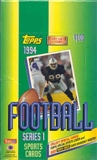 1994 Topps Series 1 Football Hobby Box