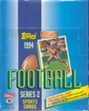 1994 Topps Series 2 Football Rack Box