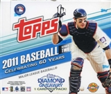2011 Topps Series 2 Baseball Jumbo Box