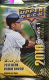 2010 Upper Deck Baseball Retail Pack