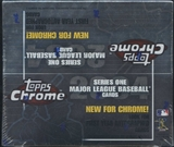2004 Topps Chrome Series 1 Baseball 20 Pack Box