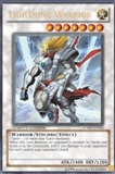 Yu-Gi-Oh Promo Single Lightning Warrior Ultra Rare (JUMP-EN046)