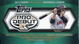 2011 Topps Pro Debut Baseball Hobby Box