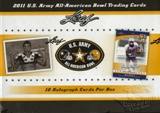 2011 Leaf U.S. ARMY All-American Bowl Football Hobby Box