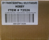 2010/11 Panini Gold Standard Basketball Hobby 10-Box Case