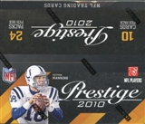 2010 Panini Prestige Football 24-Pack Box