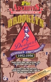 1995 Topps Brooklyn Dodgers Archives (1955) Baseball Hobby Box