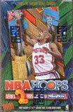 1995/96 Hoops Series 2 Basketball Hobby Box