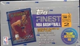 1995/96 Topps Finest Series 2 Basketball Hobby Box