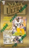 1995 Fleer Ultra Series 1 Football Hobby Box