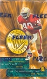 1995 Fleer Ultra Series 2 Football Jumbo Box